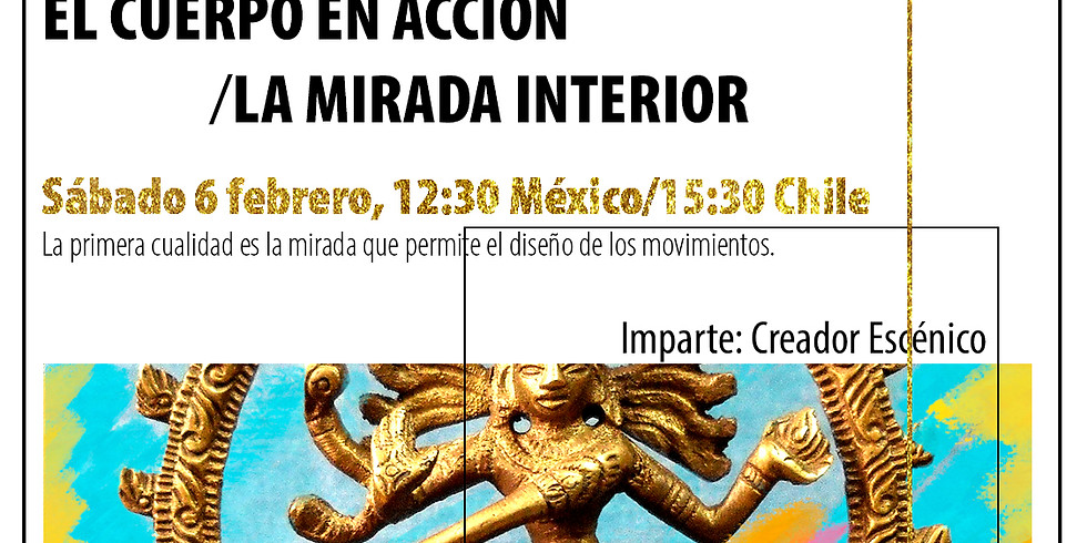 EL CUERPO EN ACCIÓN/LA MIRADA INTERIOR