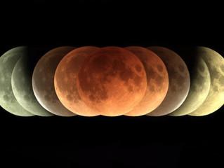 Eclipse Lunaire du 27 juillet 2018