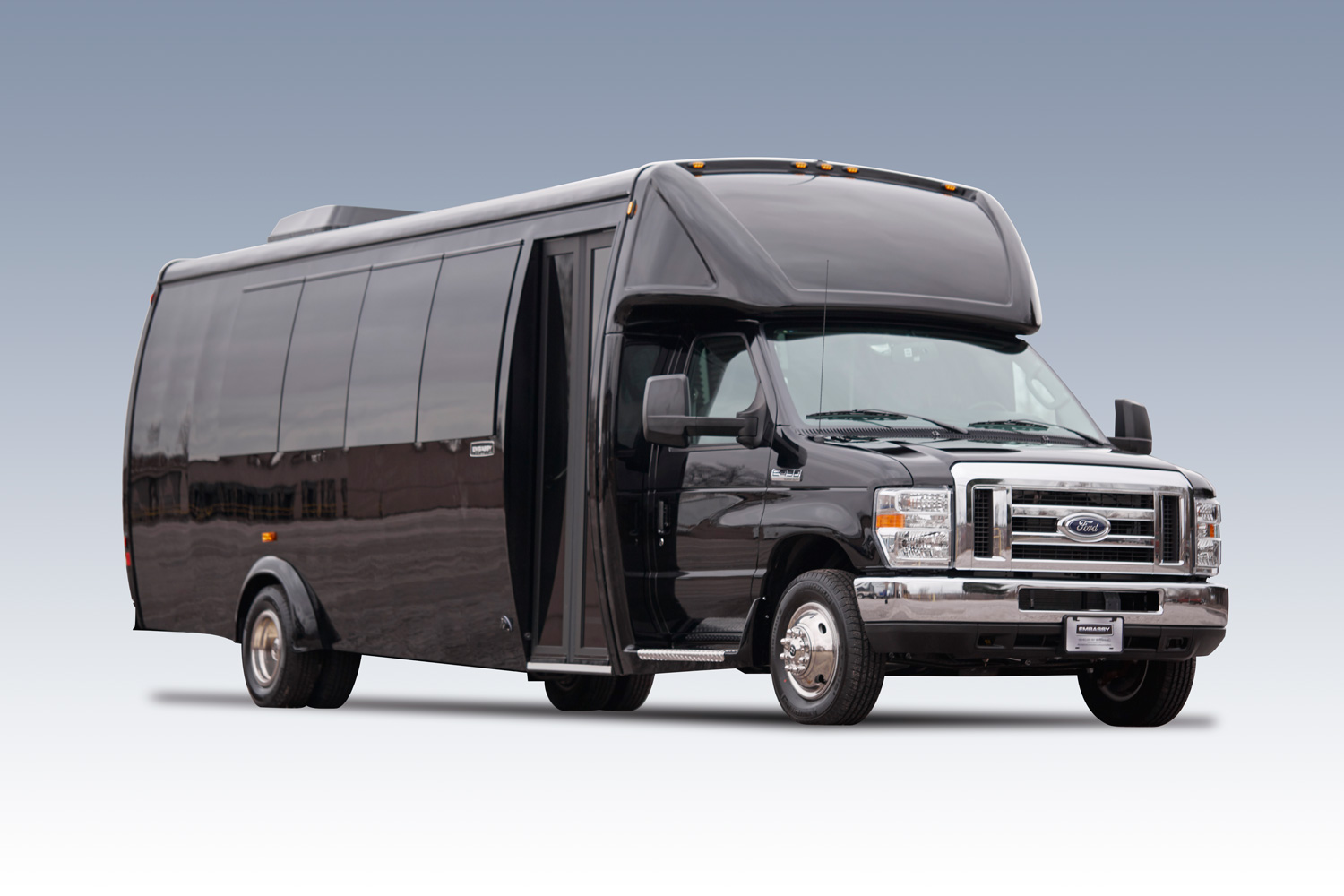 E450 Limo and Shuttle Bus for sale.