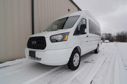 Transit Limo and Shuttle for sale.