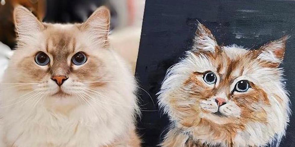 Ariel 海兒 | 寵物肖像畫一堂速成體驗班