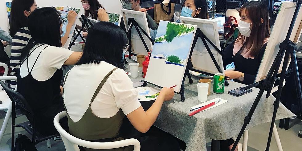 The Artistic Mind | 塑膠彩畫畫體驗班