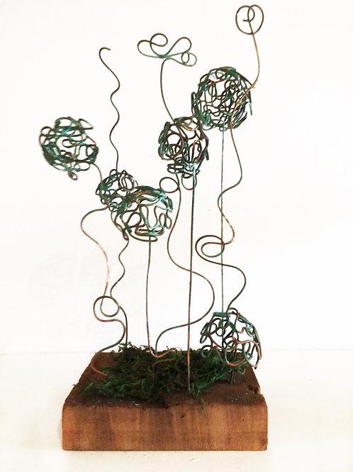 Maqueta para escultura Urbana. Pieza única.