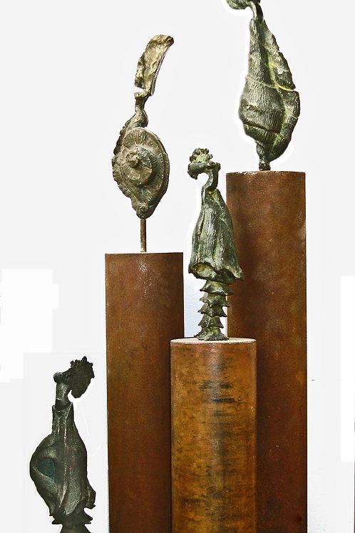 Colección de figuras caracol