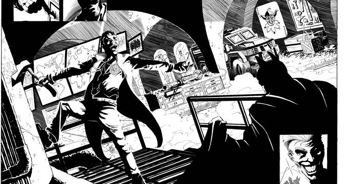 Batman pg 4 and 5