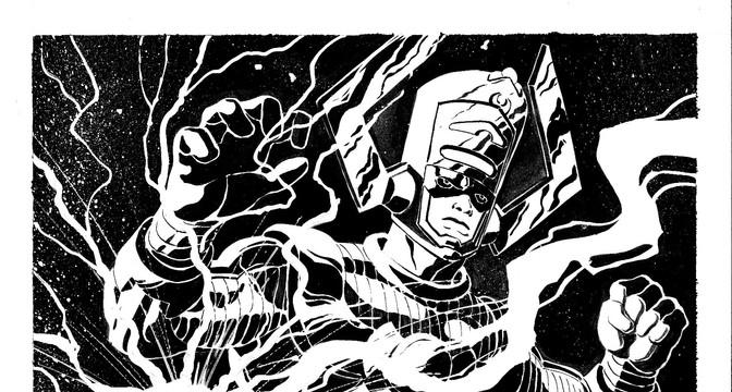 Galactus and Herald Thor
