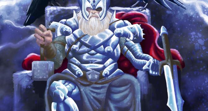 King Thor on Throne