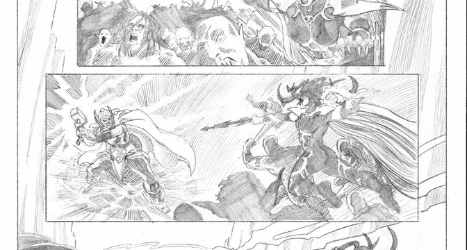Mighty Thor pg 1