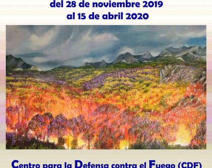 ElJueves 28 tendrá lugar la inauguración de mi nueva exposición en el C. de defensa contra el fuego