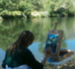Pintando en ribadelago.jpg