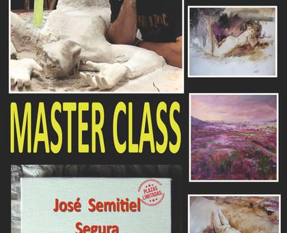 Clase magistral de José Semitiel en el C.C. León Plaza. 1 de Diciembre 2019