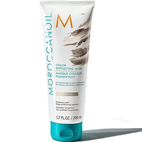 Moroccanoil Color Deposit Mask Platinum 200ml