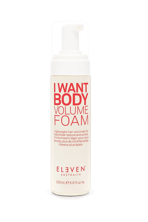 I Want Body Volume Foam 200ml