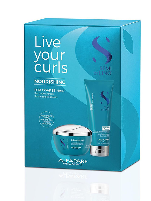 Love your Curls Nourishing Pack For Coarse Hair