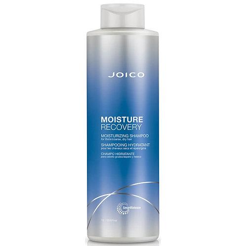 Joico Moisture Recovery Moisturizing Shampoo For Thick-Coarse, Dry Hair 1000ml