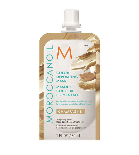 Moroccanoil Color Deposit Mask Champagne 30ml