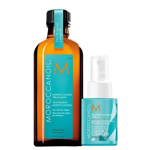 Moroccanoil Treatment Oil 100ml with Free Protect & Prevent Spray