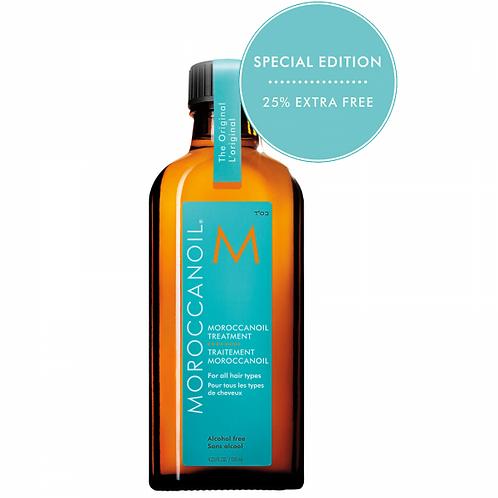 Moroccanoil Oil Treatment 125ml (25% EXTRA FREE)