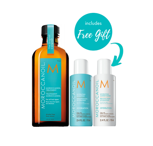 Moroccanoil with FREE HYDRATING Shampoo & Conditioner