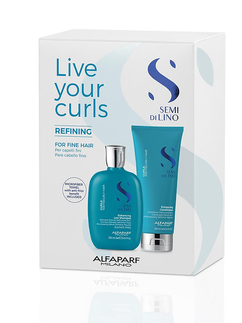 Live Your Curls Refining Pack For Fine Hair