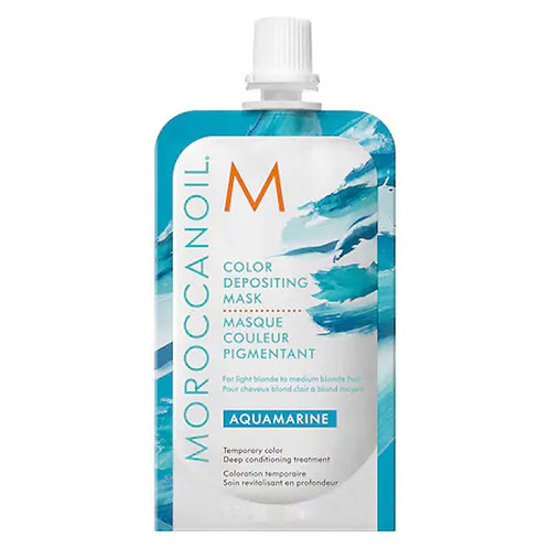 Moroccanoil Color Deposit Mask Aquamarine 30ml