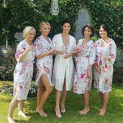 Triona with her Bridesmaids