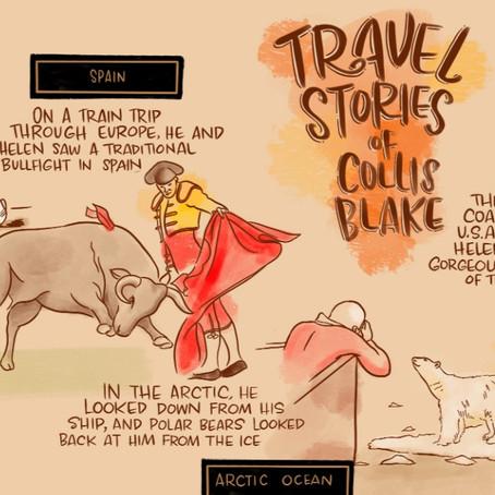 COLLIS BLAKE: A visual timeline