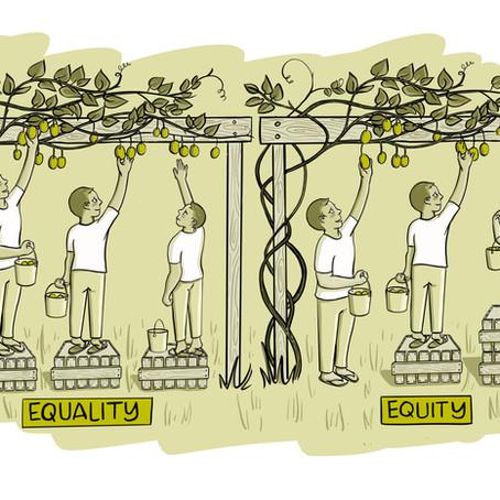 ROYAL SOCIETY: Equality VS Equity