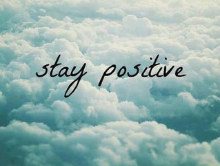 Ways to Remain Positive...