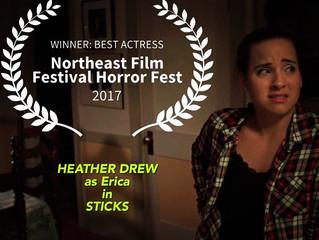 Winner: Best Actress NEFF