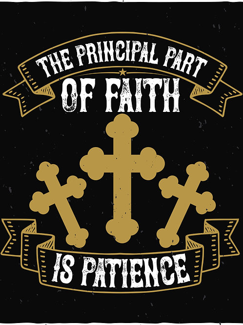 The principal part of faith is