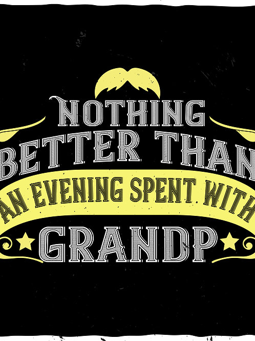 Nothing better than an evening spent with Grandpa
