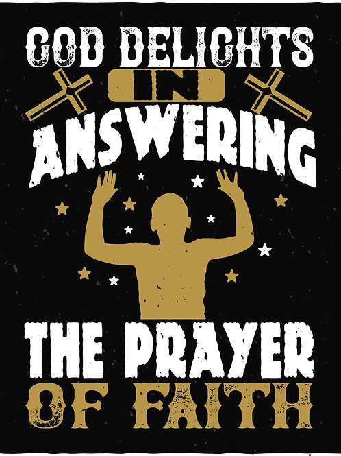 God delights in answering the prayer