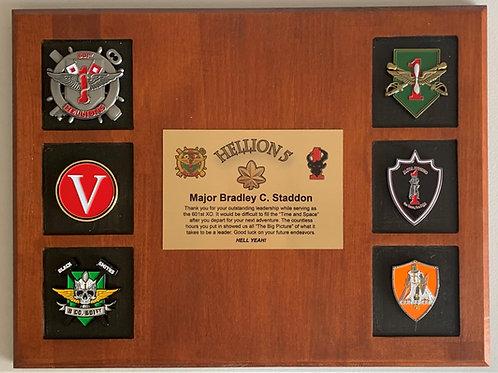 6 Window Wooden Plaque