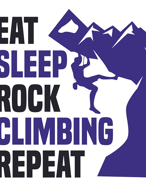 Eat Sleep Rock Climb
