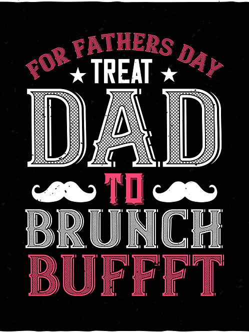 For Fathers Day treat dad to