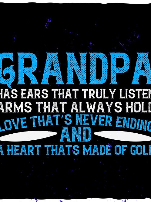 Grandpas have ears that truly listen