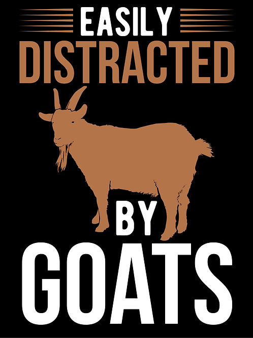 Easily distracted by goats