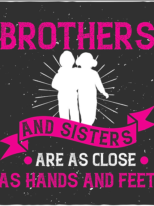 Brothers and sisters are as close as hands and feet - 03