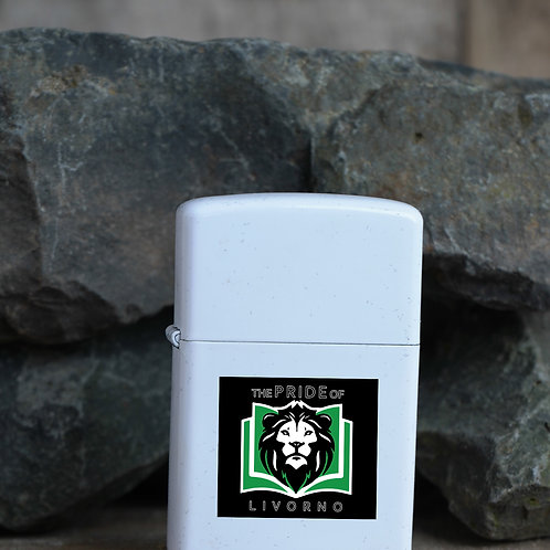 Lighter with printed school logo