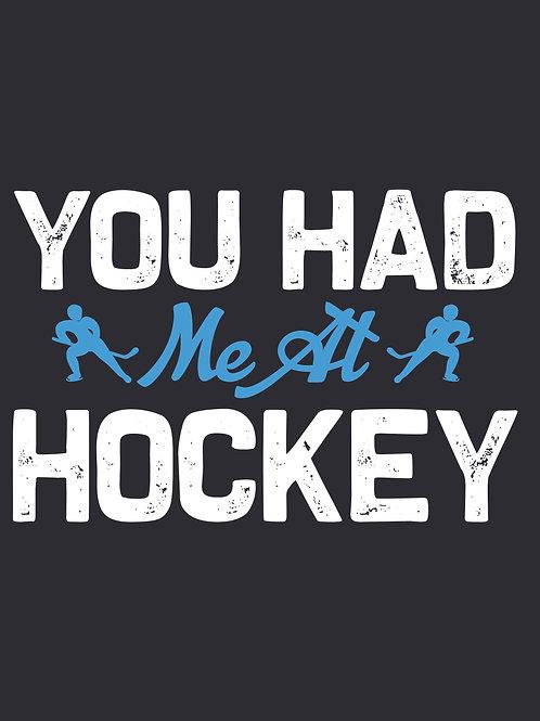 You had me at hockey