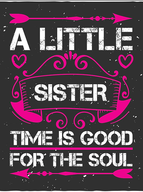 A little sister time is good