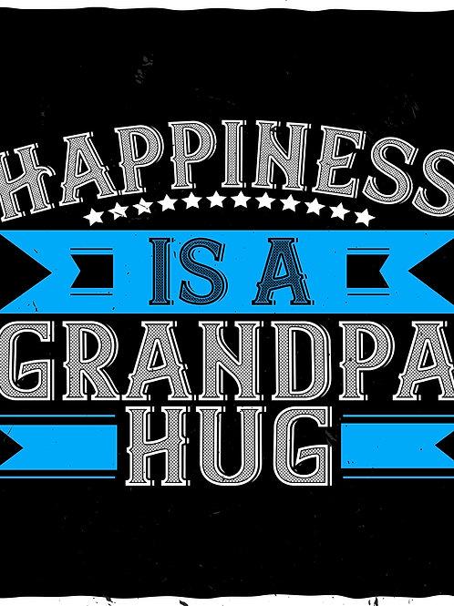 Happiness is a Grandpa hug
