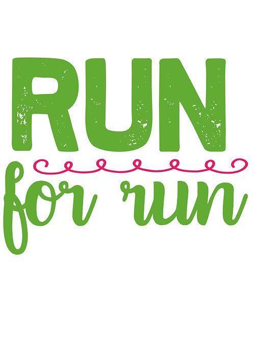 Run for run