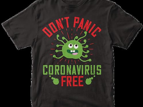 Don't panic Corona Virus free