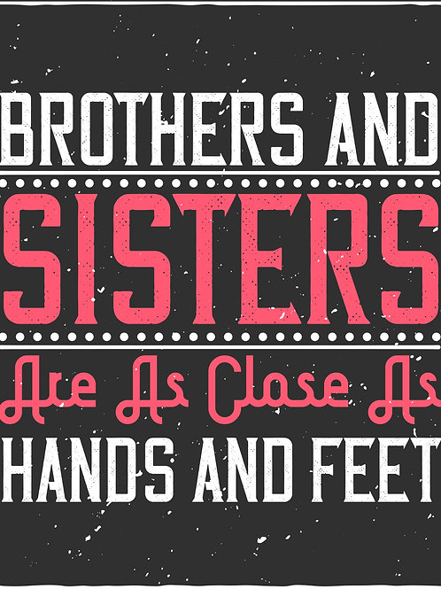 Brothers and sisters are as close as hands and feet - 02