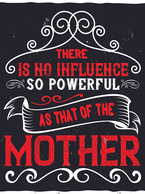 There is no influence so power as that