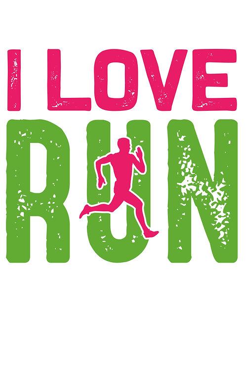 I love run