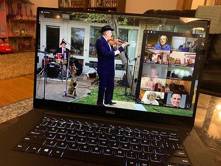 Max on Selfhelp Zoom Hanukkah Show 2020.