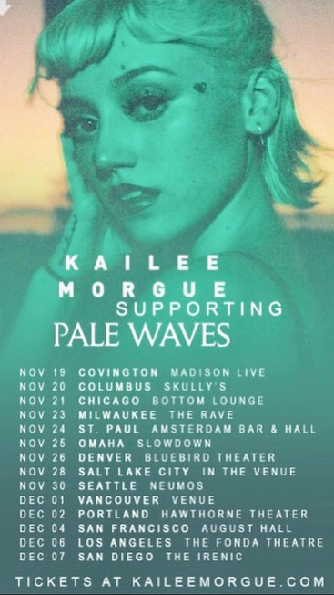 Tour with Kailee Morgue